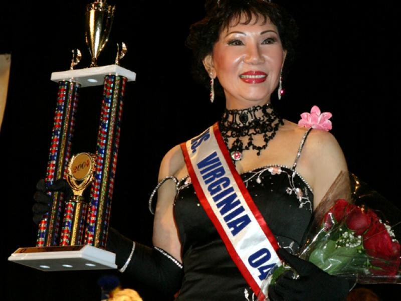 2004 – Crowned Ms. Virginia Senior America